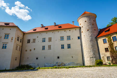 Royal Castle Pieskowa Skala near Krakow, Poland