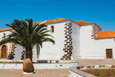 Church of Our Lady of Candelaria in La Oliva, Fuerteventura Island, Spain