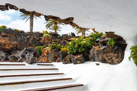 Jameos del Agua, Lanzarote, Canary Islands, Spain Stock Photo