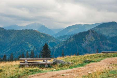 frightful: Rusinowa Glade, beautiful place in polish Tatra Mountains, Poland