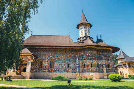 The Sucevita Monastery is a Romanian Orthodox monastery situated in the commune of Sucevitai, Romania