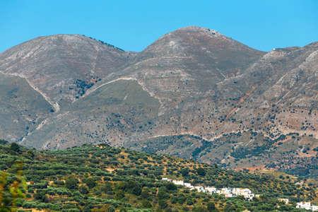 Beautiful mountain landscape of Crete, Greece