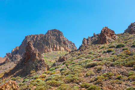 Scenic view of El Teide volcano, Tenerife, Canary Islands