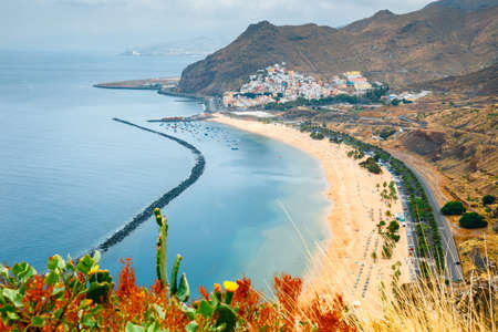 Teresitas beach near Santa Cruz de Tenerife, Canary islands, Spain Stock Photo