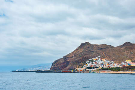Teresitas beach near Santa Cruz, Tenerife, Canary islands, Spain