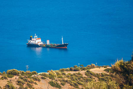 a major oil storage and terminal facility, located on the small island of Aghios Pavlos, Saint Paul, Crete, Greece