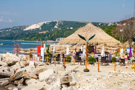 Balchik, Bulgaria, July 08, 2013: city view of balchik, black sea coast in bulgaria Zdjęcie Seryjne - 128139019