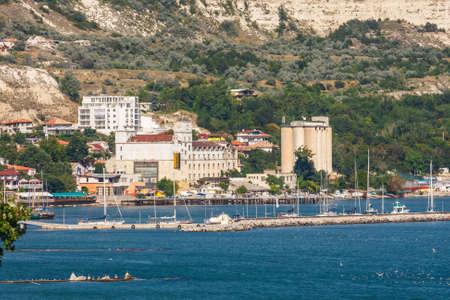 Balchik, Bulgaria, July 08, 2013: city view of balchik, black sea coast in bulgaria Zdjęcie Seryjne - 128139015