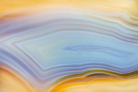 super cross: Resumen de fondo - naranja y azul de ágata mineral rebanada