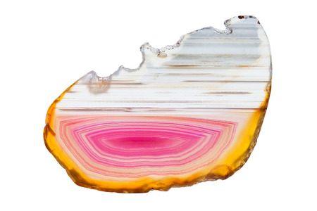 super cross: Abstract background - red and yellow agate mineral cross section