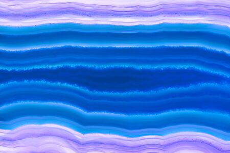 Abstract background - blue agate mineral cross section