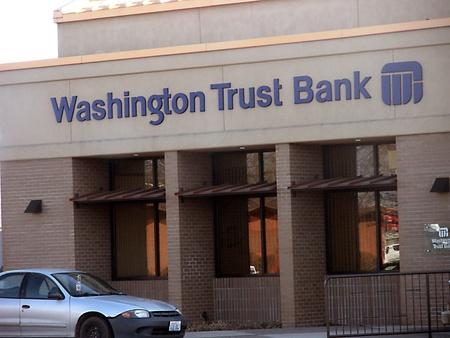 SPOKANEWASHINGTON STATE USA _ Washington Trust Bank branch 7 March 2011