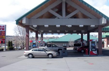 unleaded: LEWISTONIDAHOUSA _ High gasoline price 3.45 unleaded and 3.65 prem.unld at Cenex Gasoline station 17 March 2011       Editorial