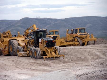 LEWISTONIDAHOUSA _Sel construction site 22 March 2011
