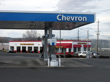 LEWISTONIDAHOUSA _ Rising gas price  regular 5c more 3.49 regular and 11c for deesel 4.15 in united states Idaho state 24 March 2011      Editorial