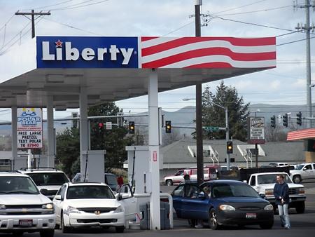 LEWISTONIDAHO STATE sServerName _ nichel elevato prezzo del gas al distributore di benzina Liberty 5 aprile 2011