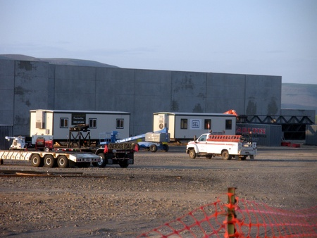 LEWISTON/IDAHO STATE /USA _ Vandervert construction site 19 June 2011