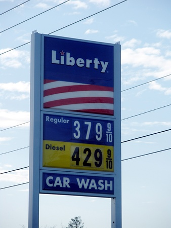 LEWISTONIDAHO STATE USA _Gas price increase 4 cents thie sweek then previous weeks 3 April 2012     Editorial