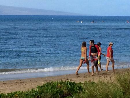 MAUI  HAWAII  USA-Maiai sito oceason e spiaggia 18 novembre 2014