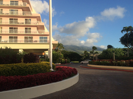 MAUI  HAWAII  USA-Uno dei tanti maui Resot su hawaii 18 Novembre 2014 Editoriali
