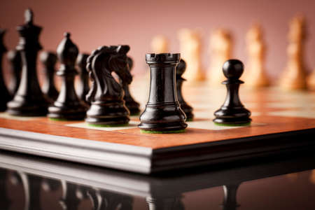 ebony: Luxury Staunton wooden chess set carved in genuine ebony and boxwood natural standing on elm burl and birds eye maple superior traditional chessboard