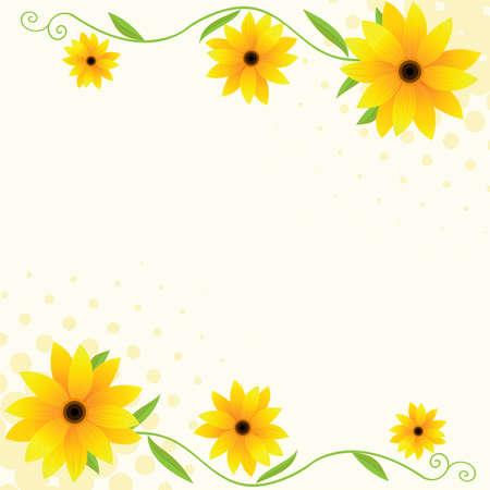 vector floral de fondo