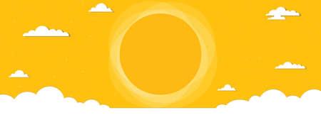 cloudscape banner Stock Vector - 17843261