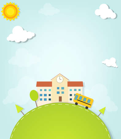 vector scholen Stock Illustratie