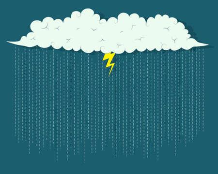 storm cloud Stock Vector - 22959174
