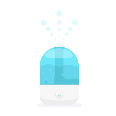 humid: humidifier for home Illustration