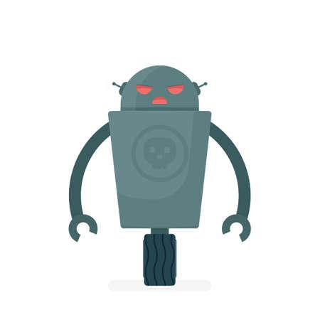 만화 악마 로봇 캐릭터