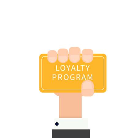 frequent: Loyalty Program concept Illustration