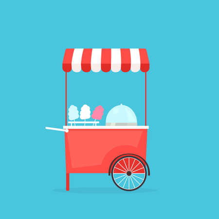 candy floss: cotton candy machine