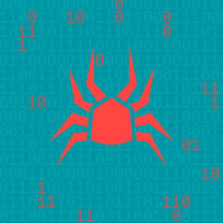 intruder: cyber attack concept