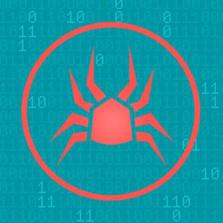 Concetto di attacco di cyber attack
