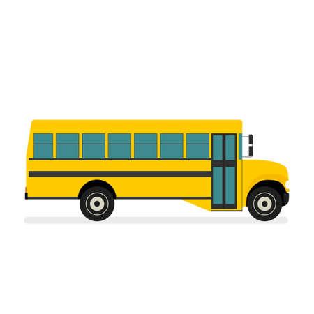 Vector de autobús escolar
