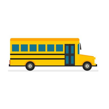 schoolbus: School Bus vector Illustration