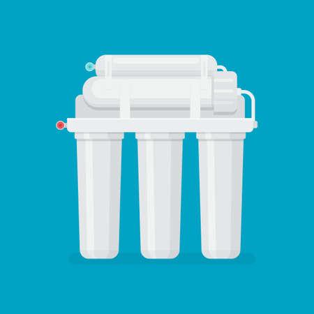 Multi stage filtration system Illustration