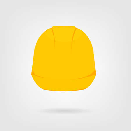 Hard hat icon Illustration