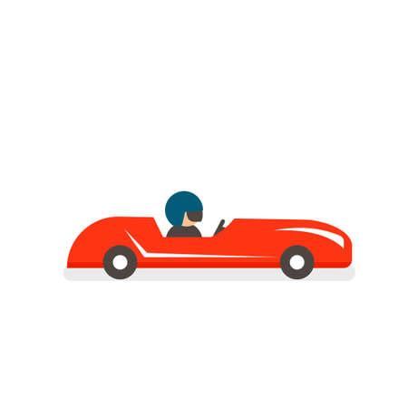 soap box derby icon Ilustrace