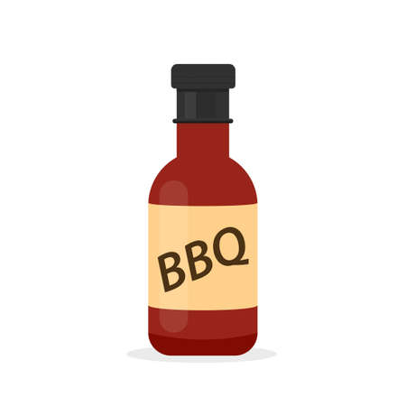 barbecue sauce bottle icon