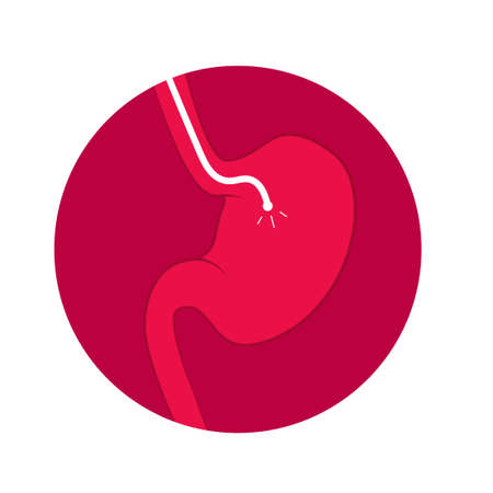 Stomach endoscopy icon