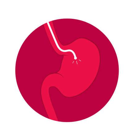 Stomach endoscopy icon