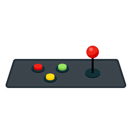 joystick and buttons