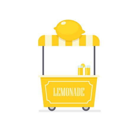 Lemonade cart.