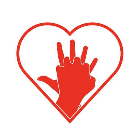 CPR icon. Illustration