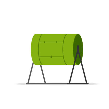 Compost tumbler icon