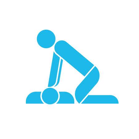 Icona di addestramento alla RCP