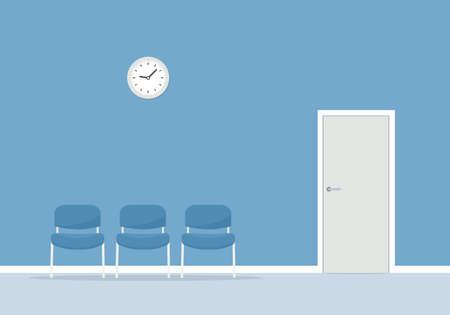 Salle d'attente avec chaises