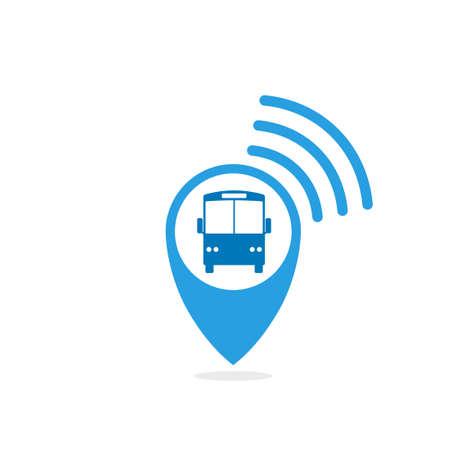 Bus tracking icon